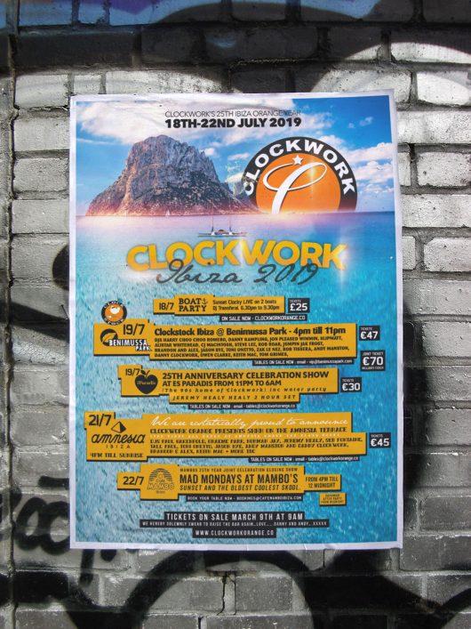 Clockwork Ibiza 2019