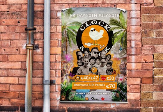 Clockwork Orange Ibiza 2018