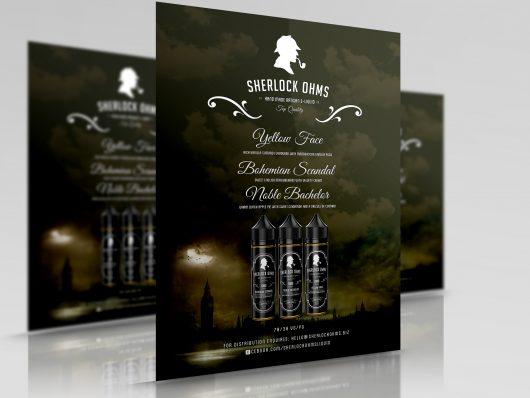 Sherlock Ohms Tastecard VAPE